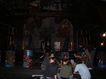 Backstage+ barriles