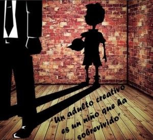 Un adulto creativo es un niño que ha sobrevivido ok