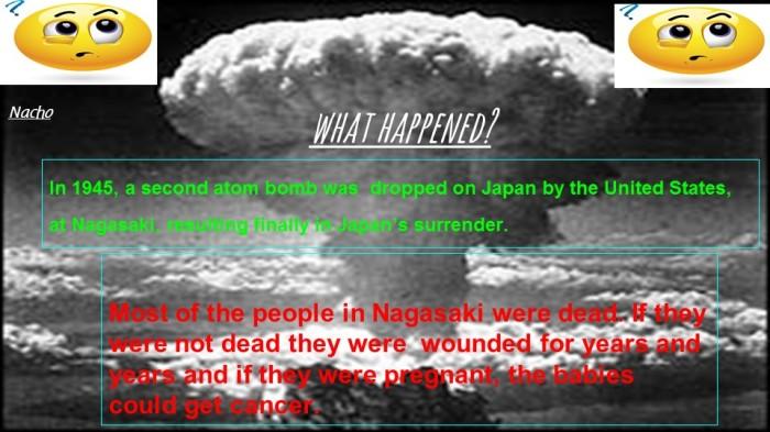 Nagasaki atomic bomb!!!!!!