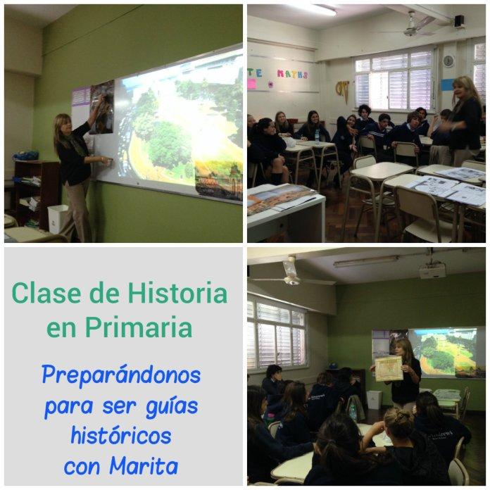 Clase para Guías Históricos en Primaria