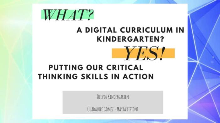 digital curriculum
