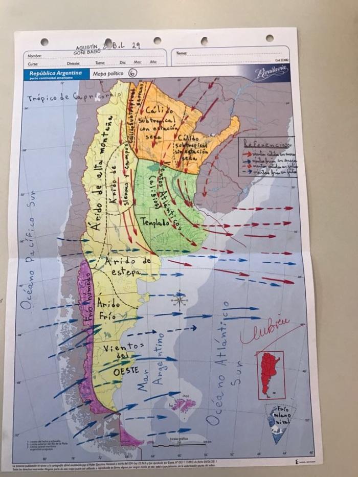 Mapa Clima MV